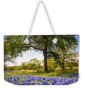 Bluebonnet Meadow Weekender Tote Bag