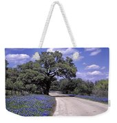 Bluebonnet Road Weekender Tote Bag