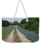 Bluebonnet Trail Weekender Tote Bag