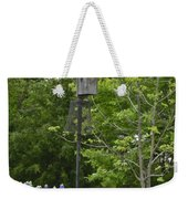 Bluebonnets And Bluebird Weekender Tote Bag
