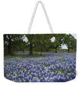 Bluebonnets And Oaks Weekender Tote Bag
