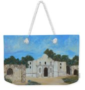 Bluebonnets At The Alamo Weekender Tote Bag