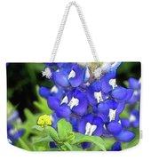 Bluebonnets Blooming Weekender Tote Bag