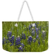 Bluebonnets In The Grass Weekender Tote Bag