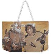 Bluegrass Music Weekender Tote Bag