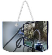 Bluejay Oob - Featured In 'out Of Frame' And Comfortable Art Groups Weekender Tote Bag