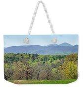 Blueridge Mountains In The Spring Weekender Tote Bag