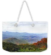 Blueridge Parkway View 2 At Mm 404  Weekender Tote Bag
