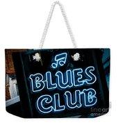 Blues Club On Bourbon Street Nola  Weekender Tote Bag