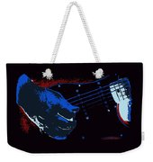 Blues Guitar Weekender Tote Bag