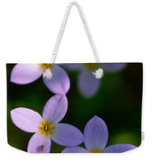 Bluets With Aphid Weekender Tote Bag