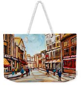 Blumenthals On Craig Street Weekender Tote Bag