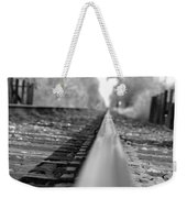 Blurred Track Weekender Tote Bag