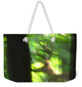 Blurry Buck Weekender Tote Bag