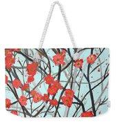 Blushing Blossoms Weekender Tote Bag