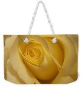 Blushing Cream Rose 3 Weekender Tote Bag