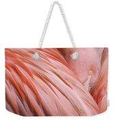 Blushing Flamingo Weekender Tote Bag