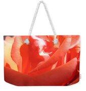 Blushing Orange Rose 2 Weekender Tote Bag