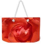 Blushing Orange Rose 5 Weekender Tote Bag
