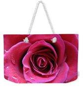 Blushing Pink Rose 3 Weekender Tote Bag