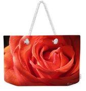 Blushing Orange Rose 1 Weekender Tote Bag