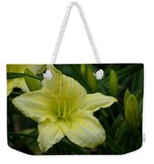 Blushing Yellow - Lilies Weekender Tote Bag