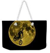 Bmx Moon Weekender Tote Bag