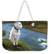 Bo At The Patapsco Weekender Tote Bag