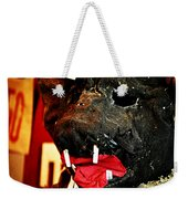 Boar Mask Weekender Tote Bag