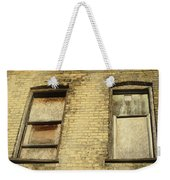 Boarded Windows 2 Weekender Tote Bag