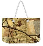 Boarded Windows And Branches Weekender Tote Bag