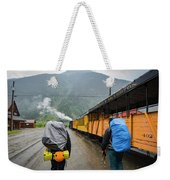 Boarding The Durango Silverton Narrow Weekender Tote Bag