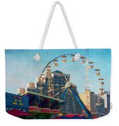 Boardwalk Ferris  Weekender Tote Bag