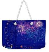 Boardwalk Fireworks Weekender Tote Bag