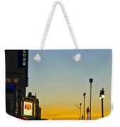 Boardwalk House Of Blues At Sunrise Weekender Tote Bag