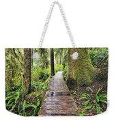 Boardwalk On The Rainforest Trail In Weekender Tote Bag