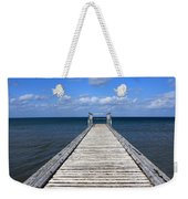 Boardwalk To The Ocean Weekender Tote Bag