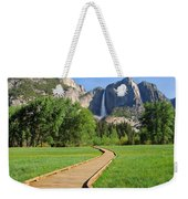 Boardwalk To Yosemite Falls  Weekender Tote Bag