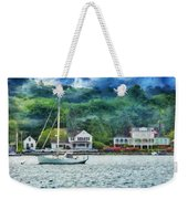 Boat - A Good Day To Sail Weekender Tote Bag