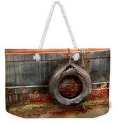 Boat - Abstract - It Was A Good Year Weekender Tote Bag by Mike Savad