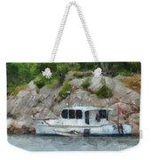 Boat Break Weekender Tote Bag