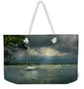 Boat - Canandaigua Ny - Tranquility Before The Storm Weekender Tote Bag