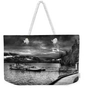 Boat Dock At Sperry Chalet 2 Weekender Tote Bag