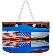 Boat For Freedom  Weekender Tote Bag