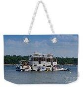 Boating Buddies Weekender Tote Bag