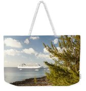 Boat In Port Weekender Tote Bag