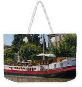 Boat On Canal Du Midi Homps France Dsc01717  Weekender Tote Bag