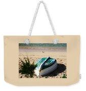 Boat On Devonshire Bay Beach Weekender Tote Bag