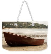 Boat On Shore 02 Weekender Tote Bag