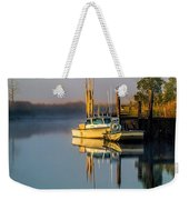 Boat On The Creek Weekender Tote Bag